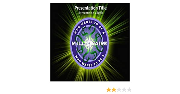 Amazon Who Wants To Be A Millionaire Powerpoint Templates Who