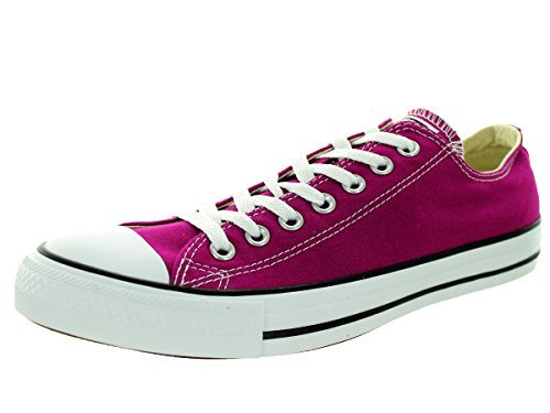 Converse All Star Ox Fashion tela, (Pink Sapphire), 42 EU (M) Donne/41 EU (M) Uomini