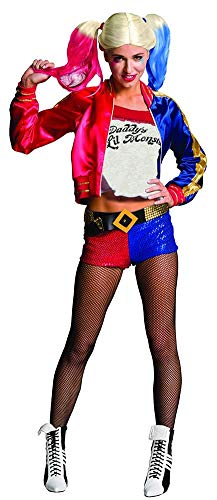 Rubie's Costume Co Women's Suicide Squad Deluxe Harley Quinn Costume, Multi, Medium]()