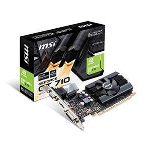 MSI GAMING GeForce GT 710 2GB GDDR5 64-bit DirectX 12 Low Profile Graphic Card (GT 710 2GD5 LP)