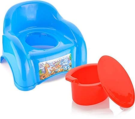 KORBOX India ABCD Baby Potty Box  Multicolor ,Baby Potty Training Seat,Use for Baby
