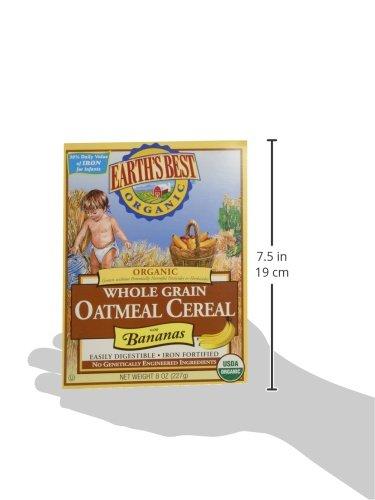 Earths Best Cereal Oatmeal & Banana