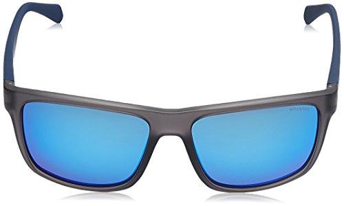 S Sonnenbrille Blue Grey Polaroid Grey Matt 2058 PLD Azul CFAARqU