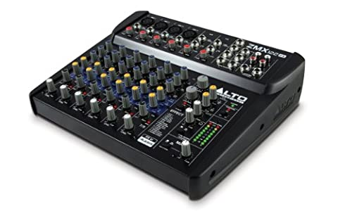 Alto Professional ZMX122FX | 8-Channel 2-Bus Compact Mixer with 16 Inputs and 256 On-Board Effects (Sound Boards)