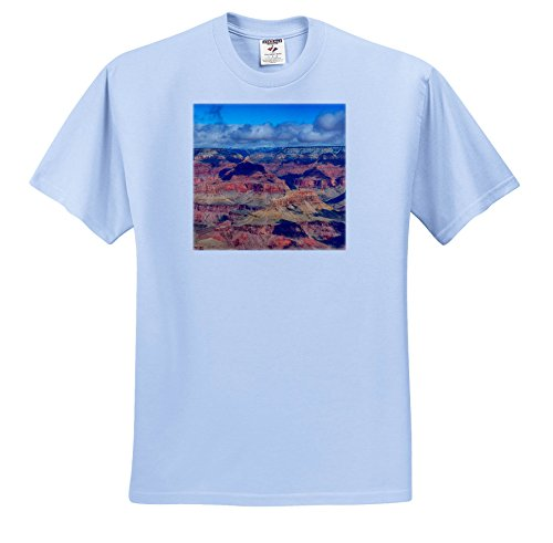 3dRose Danita Delimont - Canyons - Arizona, Grand Canyon National Park, South Rim, Mather Point - T-Shirts - Light Blue Infant Lap-Shoulder Tee (18M) (ts_258724_75)