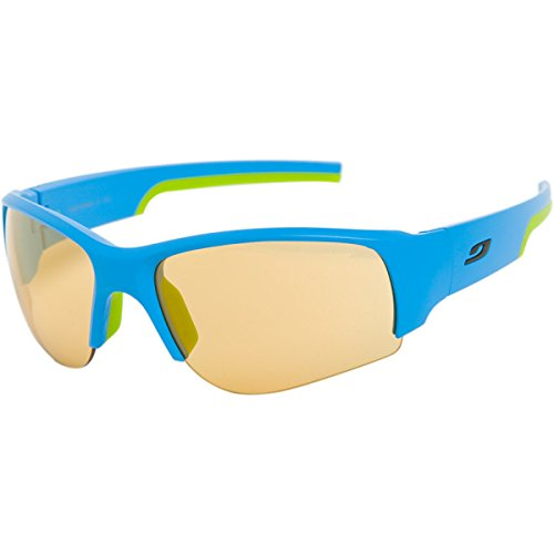 Julbo Dust Sunglasses-Blue Green Zebra - Face Slim Sunglasses For