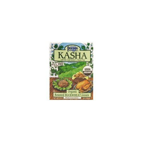 Pocono Organic Whole Granulatin Kasha, 13 Ounce -- 6 per case.