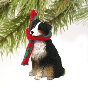 Amazon.com: Australian Shepherd Tiny One Christmas Ornament ...