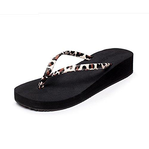 1001 playa antideslizantes sandalias los el la femenina verano inferior para cómodo plana Parte de primavera y la con deslizadores MEIDUO Chanclas Rzqxw7nB50