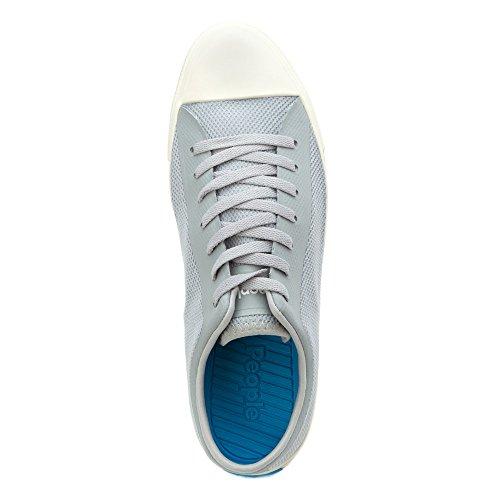 Människor Skor Mens Phillips 3d Tryckt Mesh Mode Sneakers Horisont Grå / Postering Vit