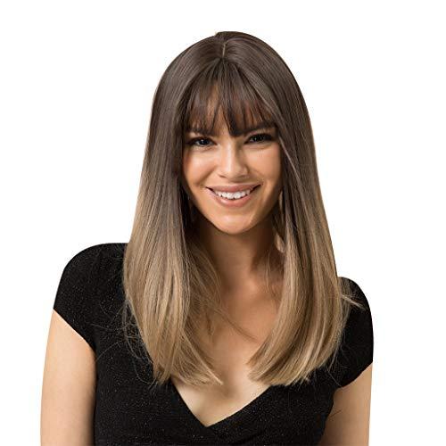 - Aleola Gratitude Wig for Women Long Straight Hair Heat Friendly Girl Cosplay Costume