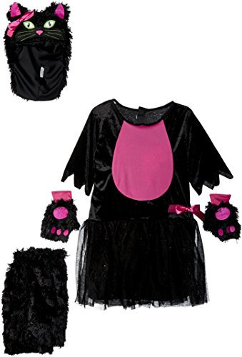 Fun World Miss Kitty Child Costume, Multicolor, Medium
