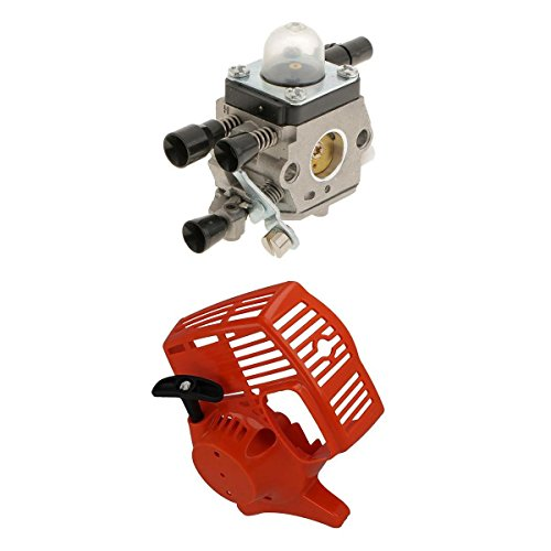 MagiDeal Kit de Carburador Retroceder para STIHL FS38 FS45 FS46 FS55 FC55 HL45 KM55