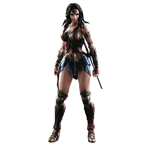 Square Enix Batman v Superman: Dawn of Justice: Wonder Woman Play Arts Kai Action Figure