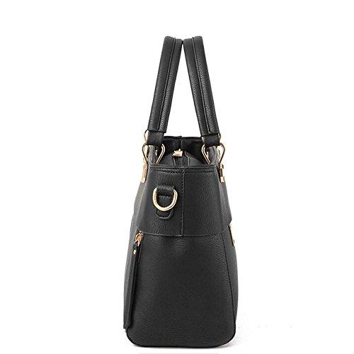 Casual à Shoulder PU Black Quotidien Womens Sac Crossbody Mode Bag BAILIANG Main aHqS7wRn
