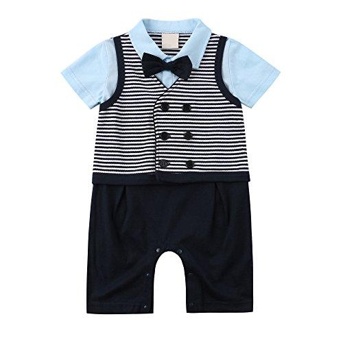 Gentleman Romper Toddler Tuxedo Jumpsuit