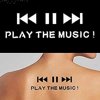 Pequeño indio Henna Kit de plantillas de reproducción de música ...