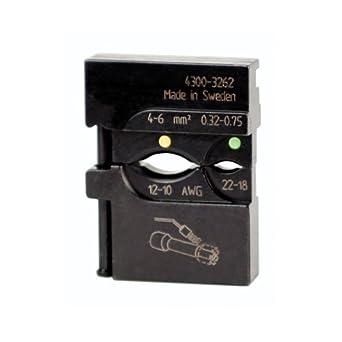 Wiha 43162 PortaCrimp Die Set For Heat Shrink Connectors