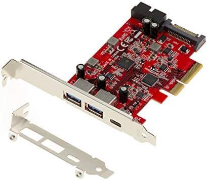 Kalea-Informatique Bitcoin Mining per collegare Tale dei Risers USB//PCIe Scheda di Replicazione PCIe 1 x verso 4 porte per collegamenti USB3