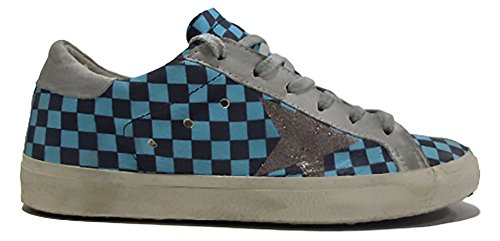 Golden Goose Women's Trainers Baby Blue and Blue Ygbtbyg3