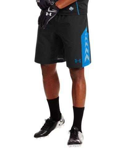 Under Armour Men's NFL Combine Authentic Shorts Large Black