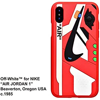 best loved 9ba7b c0a97 Phone Case for iPhone 6s Plus/6 Plus, Off White x AJ Sneaker Cover Shock  Absorption Soft TPU Bumper Anti-Scratch Ultra Slim Protective Case for  iPhone ...