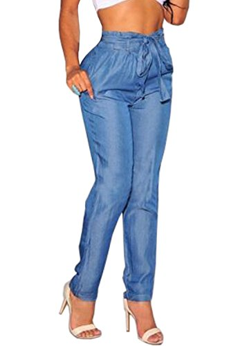 Crazy Womens Casual Elastic Trousers