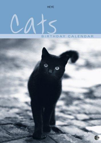 Cats Birthday Calendar: Jahresunabhängig