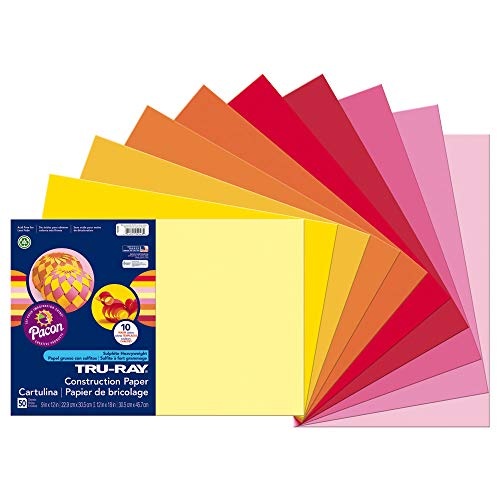 (Pacon Tru-Ray Construction Paper, 12