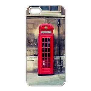 DIY Printed street hard plastic case skin cover For iPhone 5, 5S SN9V593190