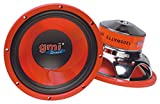 """10"""" PA Woofer Speaker Replacement - 1200 Watts - 4-8 ohms - For Home, Car, LoudSpeakers, and Professional Needs, By GMI Pro"""