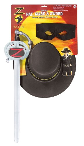 Kids Zorro Costumes (Zorro Generation Z Child's Costume Accessory Kit)