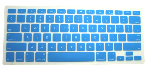 CaseBuy Silicone Keyboard Protector Semi Blue