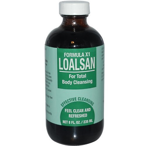 TPCS, Loalsan, Formula X1, For Total Body Cleansing, 8 fl oz (235 ml) by (Total Body Cleansing Products)
