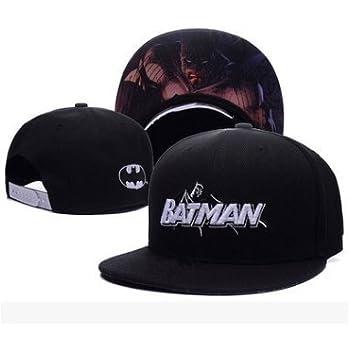 Batman Fashion Unisex Snapback adjustable Baseball Cap Hip Hop hat Batman(color 2)