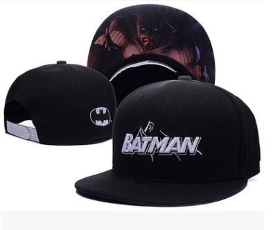 b59477977 Amazon.com: Batman Fashion Unisex Snapback adjustable Baseball Cap ...