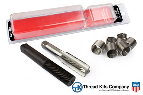 Perma-Coil 1208-110 Thread Repair Kit 5/8-11 6PC Helicoil 5401-10 (Perma Coil Kits)