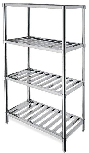Commercial Kitchen stainless steel racking shelves , shelving ...