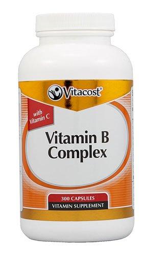 Vitacost Vitamin B Complex With Vitamin C -- 300 Capsules - 3PC by Vitacost Brand