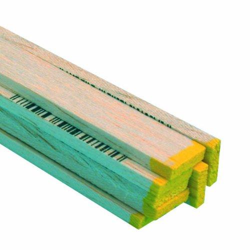 Midwest Products 6049 Micro-Cut Quality Balsa 36 Inch Strip Bundle, 0.125 x 0.5 - Balsa Strips