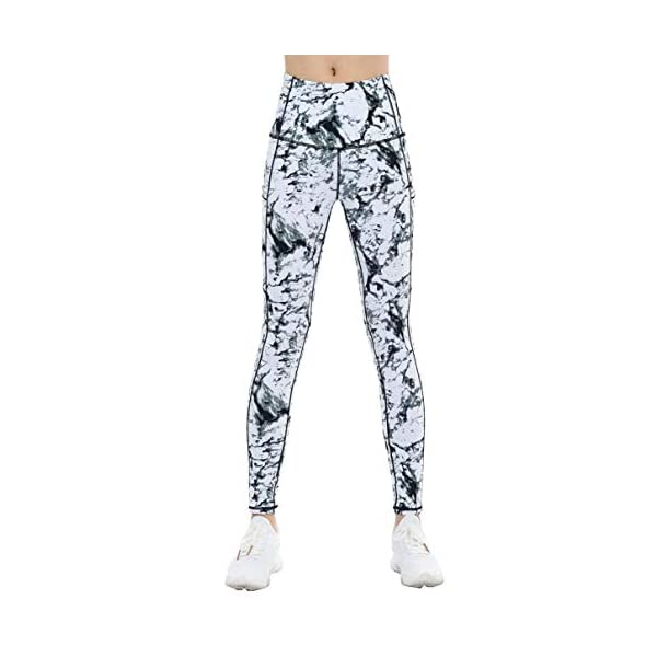 The Gym People Thick High Waist Yoga Pants With Pockets Tummy Control Workout Running Yoga Leggings For Women