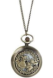 Disney Alice In Wonderland Pocket Watch Necklace