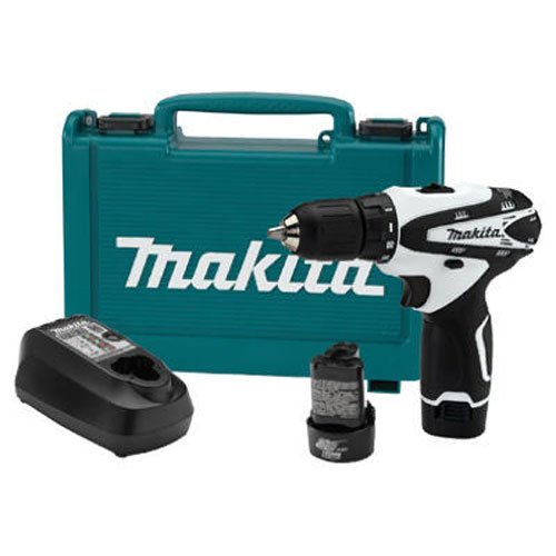 Makita FD02W 12V max Lithium-Ion Cordless 3/8'' Driver-Drill Kit by Makita