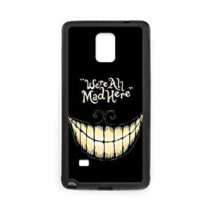 DDOUGS I We are all mad here Personalised Cell Phone Case for Samsung Galaxy Note 4, Dropship I We are all mad here Case