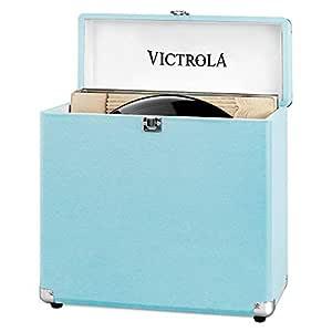 Maleta de almacenamiento portátil Victrola Vinilos Record LPs ...