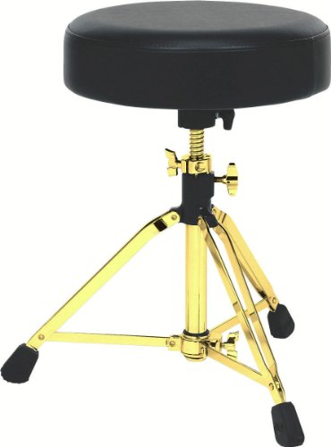 Drum Workshop Tripod Throne with Memory Lock, Gold