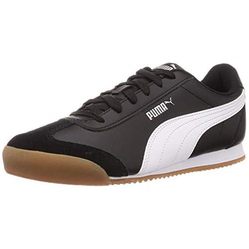 chollos oferta descuentos barato PUMA Turino Zapatillas Unisex Adulto Negro Black White Gum 37 5 EU