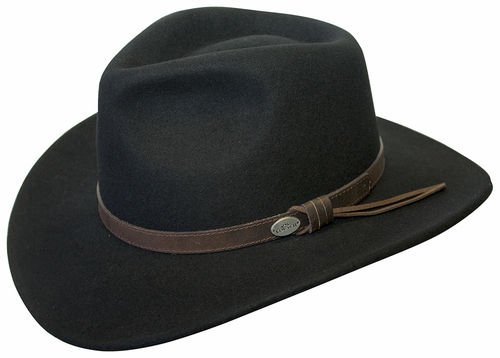 2569df293 Conner Hats Men's Aussie Wool Crusher Hat