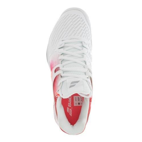 Babolat New Propulse Fury All Court Shoes, Zapatillas De Tenis, Blanco, 36.5