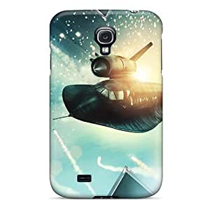 New Snap-on Phone Case Skin Case Cover Compatible With Galaxy S4- X Men First Class Fighter Jet
